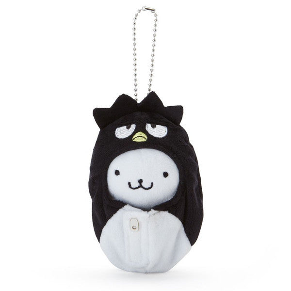 Bad Badtz-Maru Hanamaru Plush Mascot Holder Keychain Sleeping bag Sanrio Japan