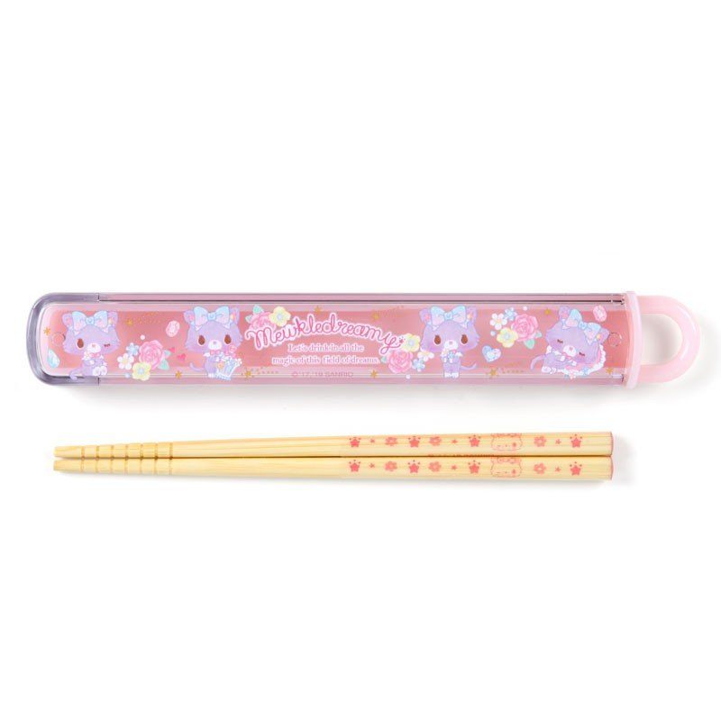Mewkledreamy Chopsticks with Case Perfume Sanrio Japan
