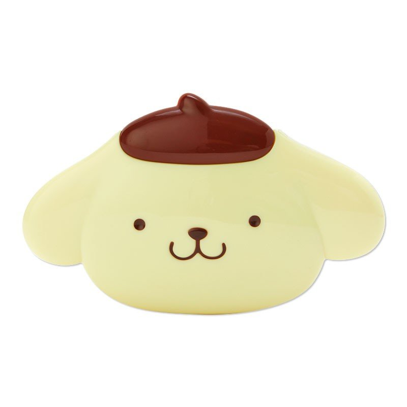 Pom Pom Purin Mirror & Comb Set Face Shape Sanrio Japan