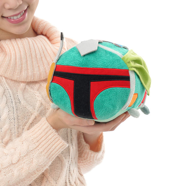 TSUM TSUM M Star Wars Boba Fett Plush Doll Disney Store Japan 2016
