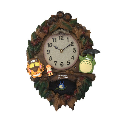 My Neighbor Totoro Pendulum Clock M429 Studio Ghibli Japan
