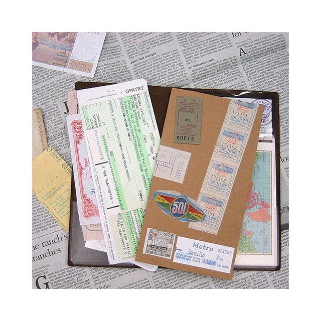 Traveler's Notebook Japan Regular Size Refill 004 Pocket Stickers 14248006