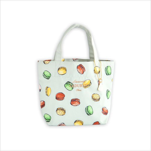 Tote Bag Macaron Green S Laduree Japan