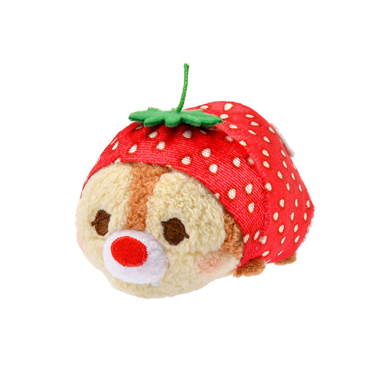 Dale Tsum Tsum Plush Doll mini S Strawberry Disney Store Japan