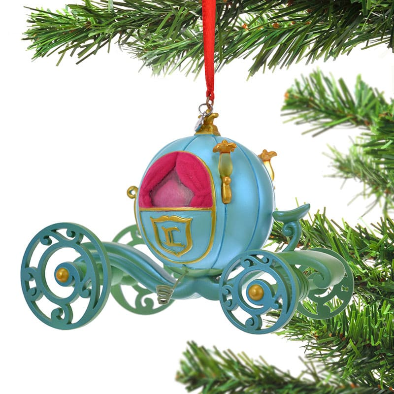 Cinderella Christmas Tree Ornament Pumpkin Carriage Disney Store Japan 2019
