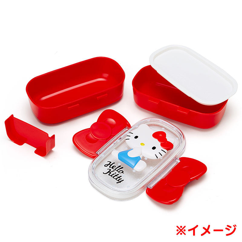 My Melody Relief W 2-stage Lunch Case Bento Box Sanrio Japan