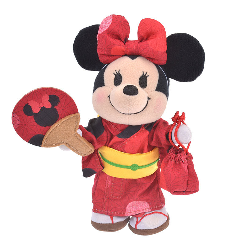 Costume for Plush nuiMOs Doll Yukata Minnie Dot Disney Store Japan Summer Kimono