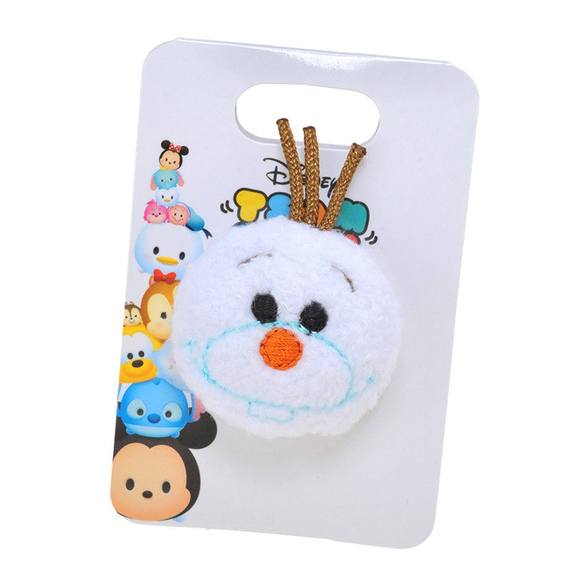 TSUM TSUM Plush Badge - Olaf Frozen Snowman Stuffed toy Disney Store Japan
