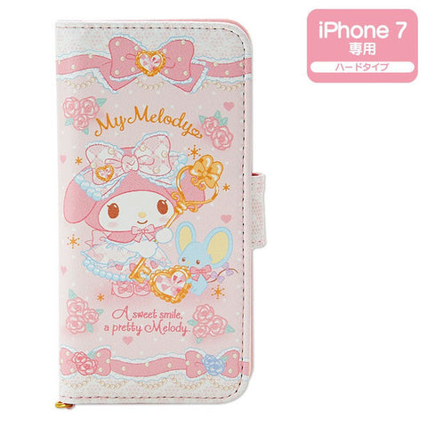 My Melody iPhone 7 Fold Case Cover Fairy Tale Dome Sanrio Japan