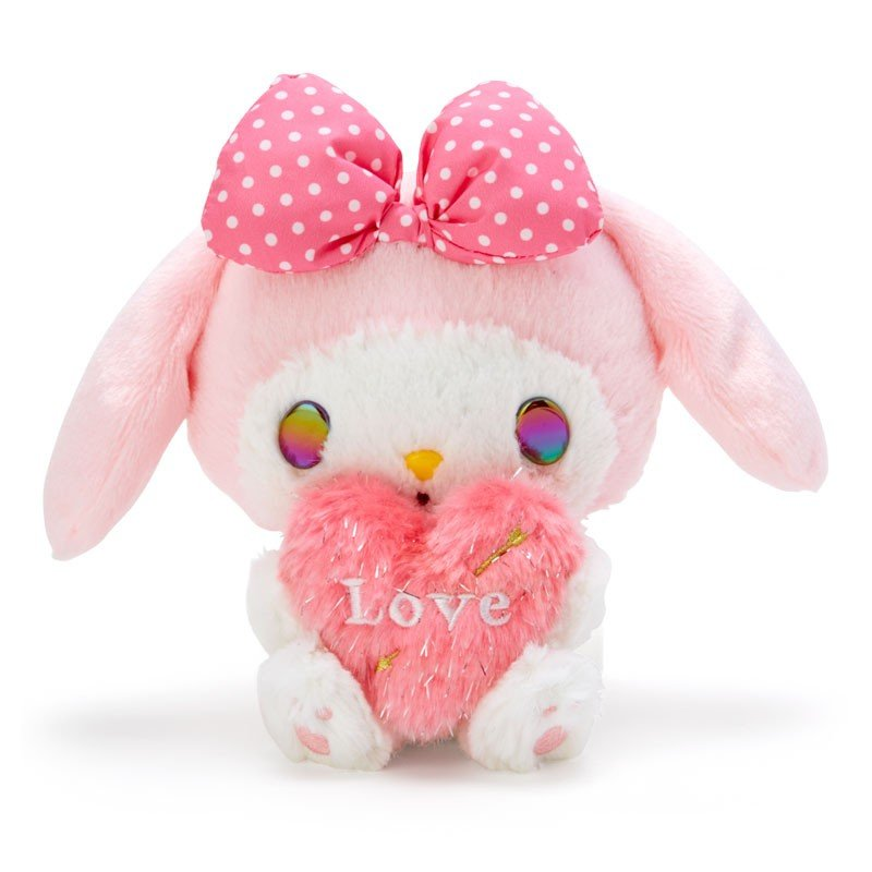 My Melody Plush Doll Heart Cupid Sanrio Japan Valentine's Day