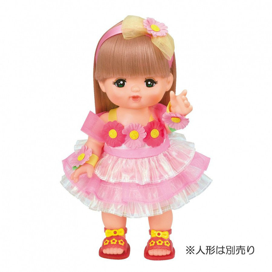 Costume for Mell Chan Flower Dress Pilot Japan Pretend Play Toys