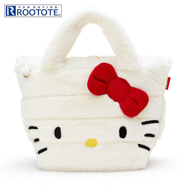 Hello Kitty Tote Bag ROOTOTE FEATHER ROO DELI Sanrio Japan