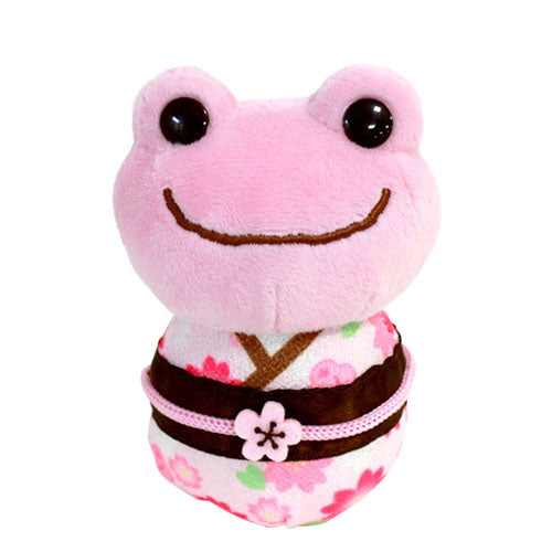 Pickles the Frog mini Plush Doll Princess Daruma Sakura Japan