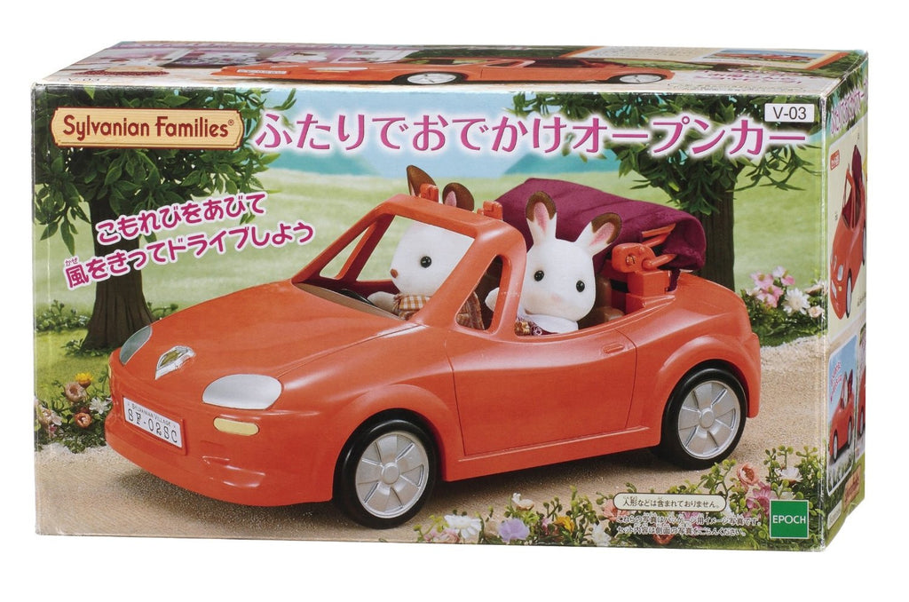 Sylvanian Families Family Open Cart Red from Japan (Calico Critters)