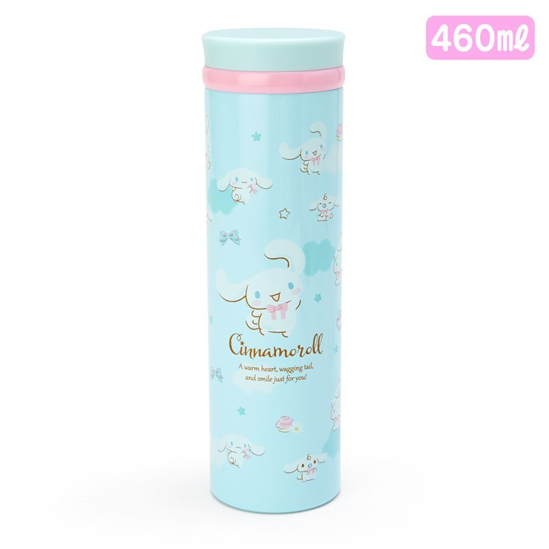 Cinnamoroll Stainless Bottle 460ml Sanrio Japan