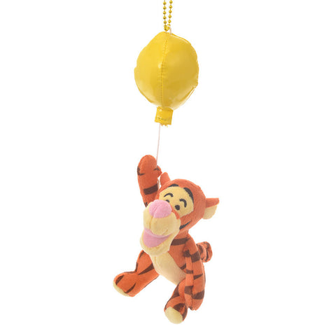 Tigger Plush Keychain BALLOON Color of Pooh Disney Store Japan