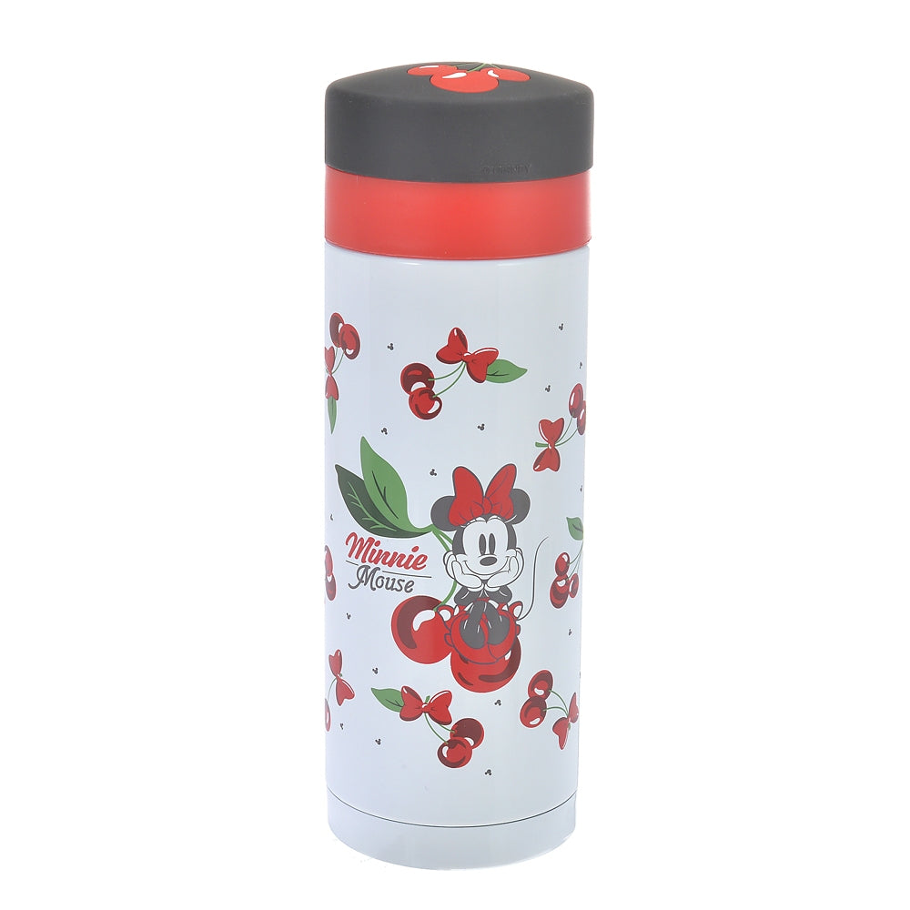 Minnie Stainless Bottle CHERRY Disney Store Japan