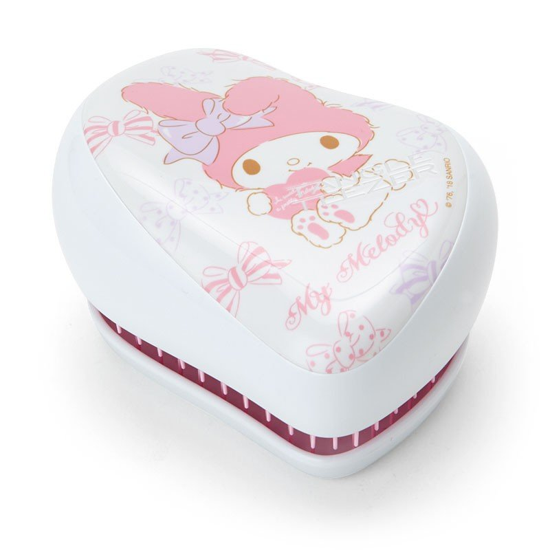 My Melody On-the-Go Detangling Hairbrush Cotton Candy Sanrio Japan