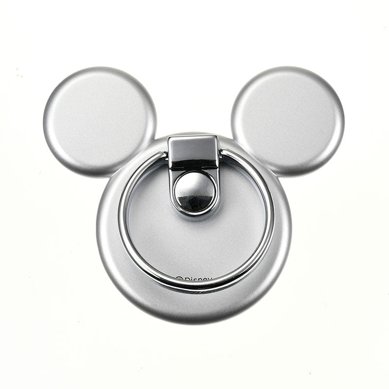 Mickey Smartphone Ring Icon Silver Disney Store Japan