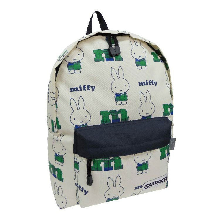 Miffy Backpack Day Pack M Beige OUTDOOR Japan