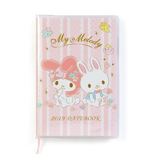 My Melody 2019 Schedule Planner Book mini Pocket Monthly Sanrio Japan