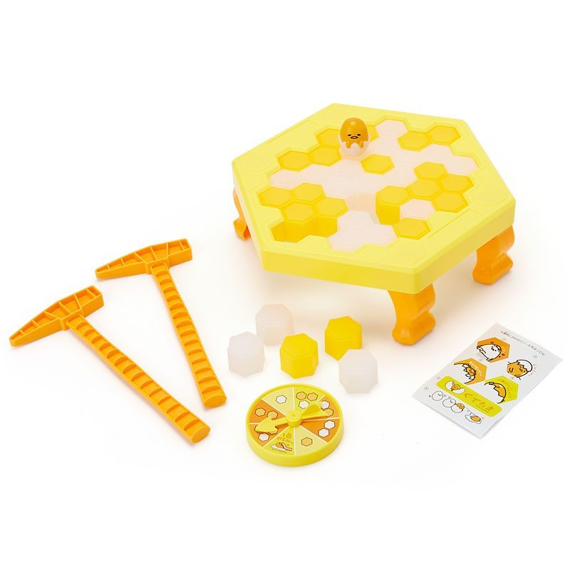 Gudetama Egg Puzzle Drop Game Toy Sanrio Japan