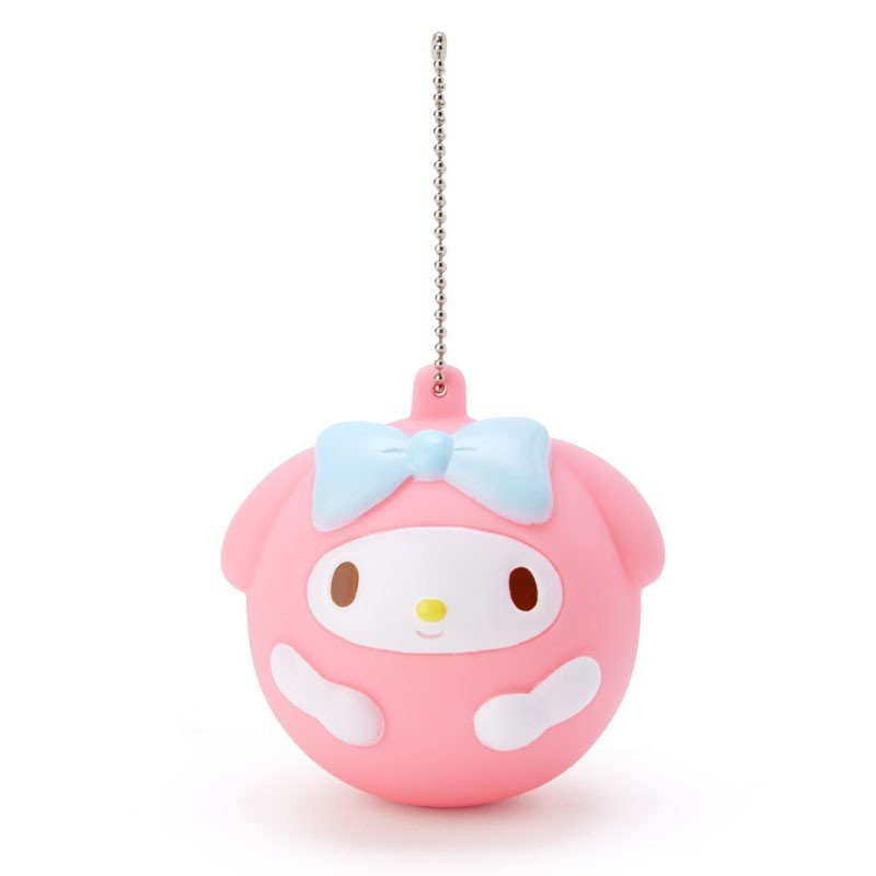 My Melody Mascot Holder Keychain Mugyu Crying Sanrio Japan