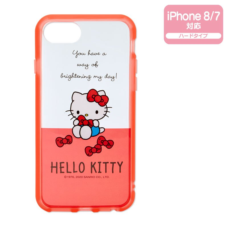 Hello Kitty iPhone 7 8 Case Cover IIIIfi+ Clear Sanrio Japan