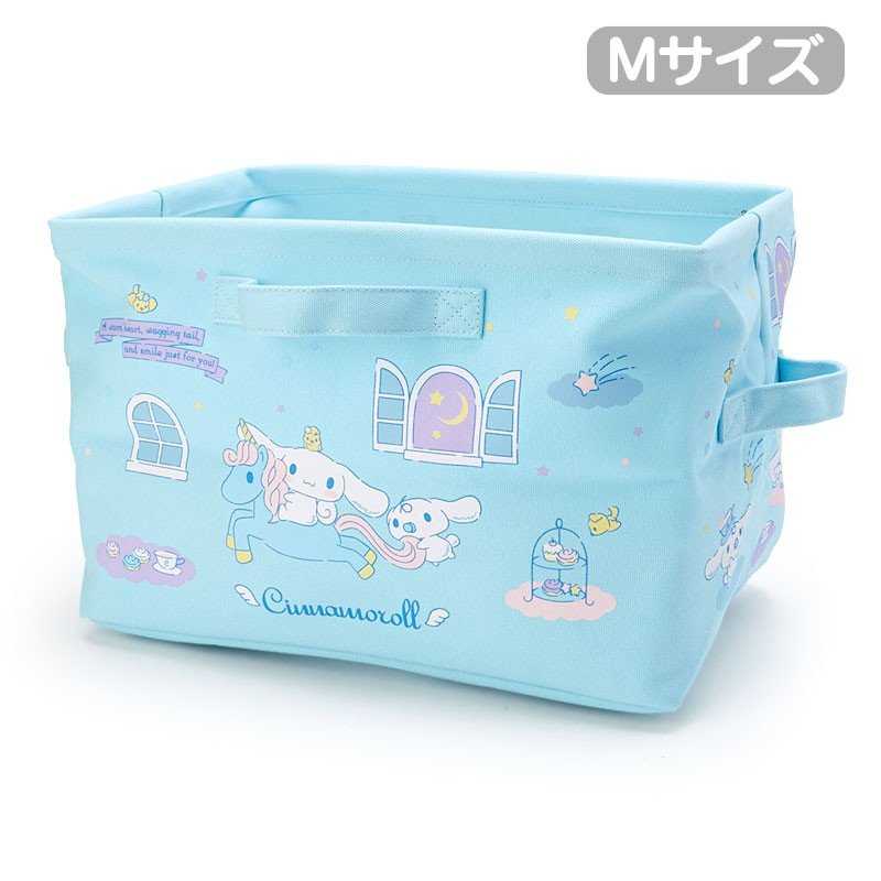 Cinnamoroll Canvas Storage Box M Sanrio Japan