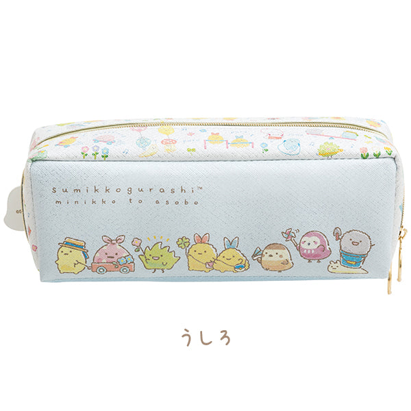 Sumikko Gurashi Pen Case Pencil Pouch Paka minikko to asobo San-X Japan
