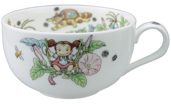 My Neighbor Totoro Tea Cup Sorcerer Ghibli Noritake Japan Bindweed Gift Box