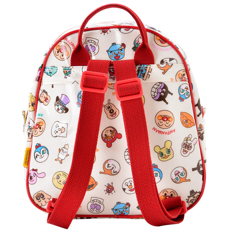 Anpanman Kids Backpack Pattern Red Japan 4992078011438