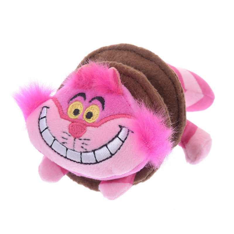 Cheshire Cat Plush Badge Pop Up Disney Store Japan Alice in Wonderland