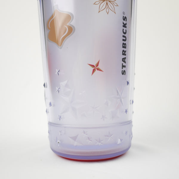 Starbucks Christmas 2013 Taiwan Ornament Tumbler 16 oz