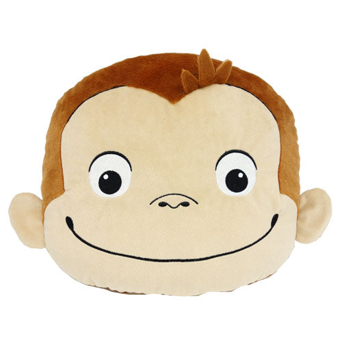 Curious George Cushion Face Japan K-6914