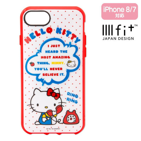 Hello Kitty iPhone 7 8 Case Cover IIIIfi+ Sanrio Japan
