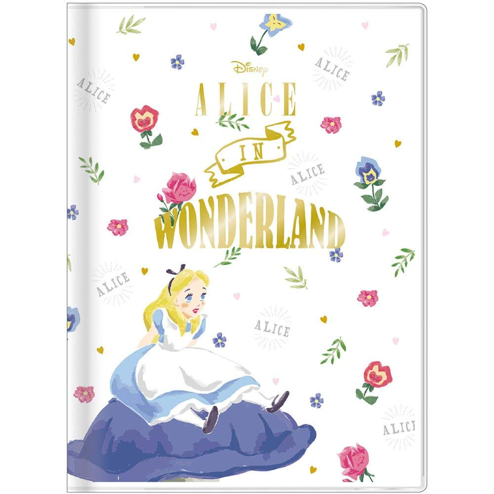 Alice in Wonderland 2019 Schedule Book B6 Weekly White Disney Japan Sun-Star