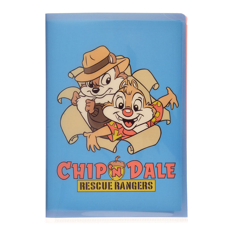 Chip & Dale Letter Set File Holder Rescue Rangers 2019 Disney Store Japan