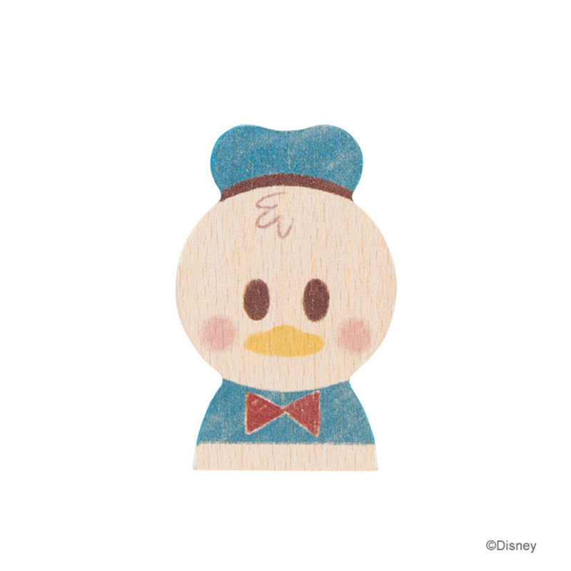 Donald KIDEA Toy Wooden Blocks Disney Store Japan