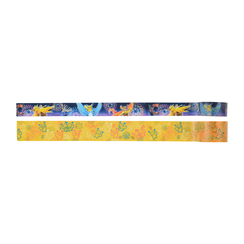 Pikachu Masking Tape Set Osaka DX Pokemon Center Japan Original