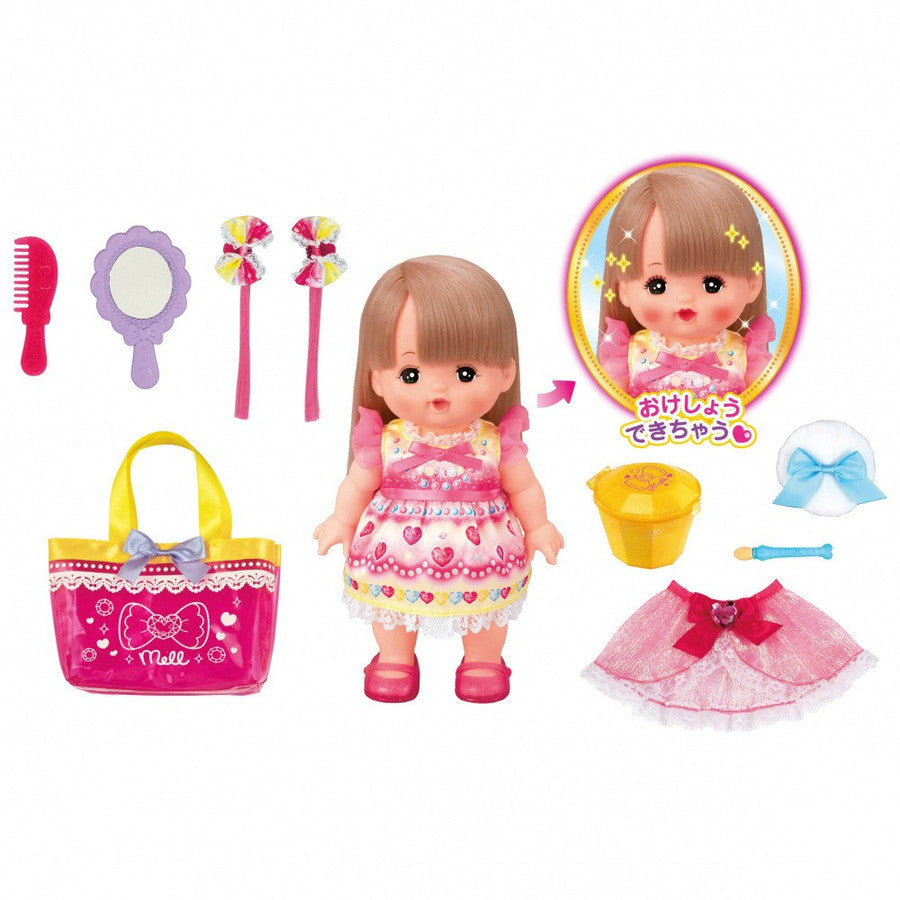 Mell Chan Pretend Play Doll Make Up Set Pilot Japan