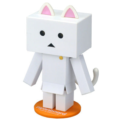 Nyanbo mini Figure Shiro White Cat Danbo Japan