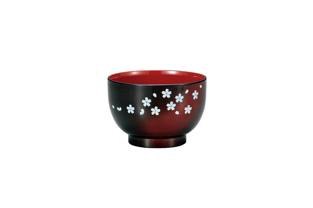 Bowl Sakura Blue 45861 Black HAKOYA Japan