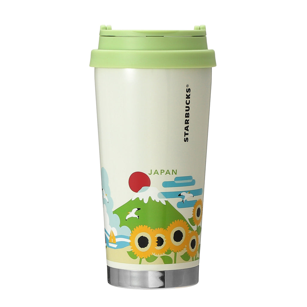 You Are Here Collection Stainless Tumbler JAPAN Summer 473ml Green Starbucks
