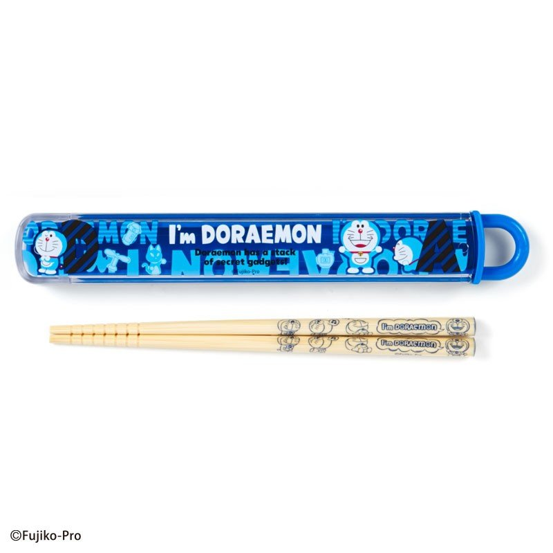 Chopsticks with Case I'm DORAEMON Sanrio Japan 2019