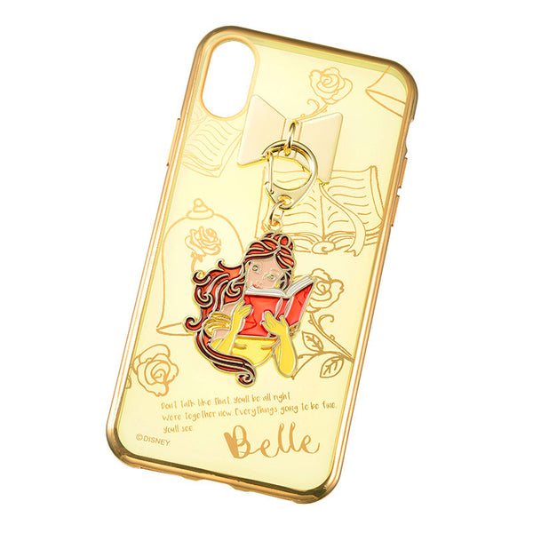 Belle iPhone X Case Cover Charm charming Disney Store Japan Beauty and the Beast