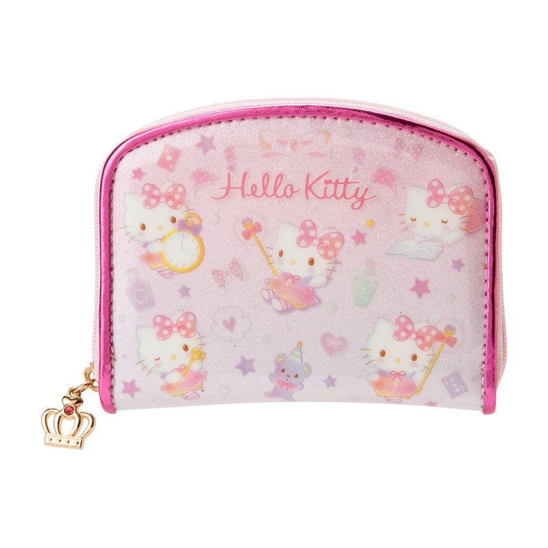 688714c80eb0 Hello Kitty Coin Case Pouch Stick Sanrio Japan