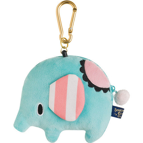 Sentimental Circus Plush Reel ID Card Pass Case Mouton Hometown San-X Japan