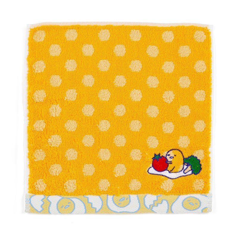 Gudetama Egg mini Towel Dot Sanrio Japan