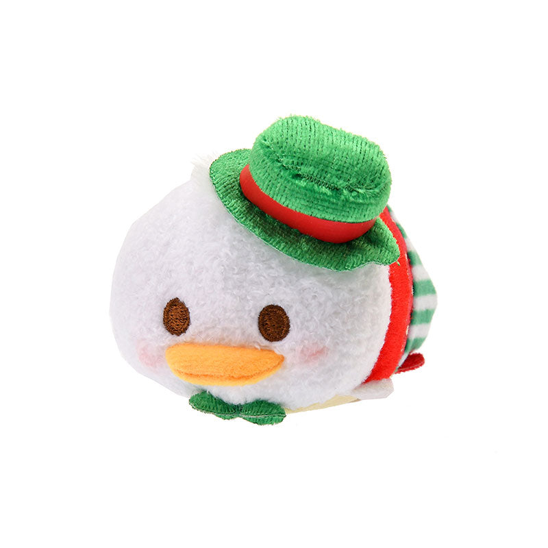 Donald Tsum Tsum Plush Doll mini S Strawberry Disney Store Japan